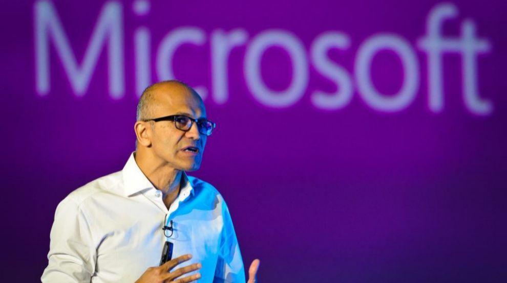 Satya Nadella, CEO de Microsoft Foto: JMCadenas