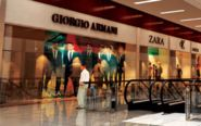 Recreación digital de un centro comercial que se está construyendo...