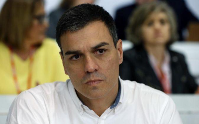 Esecretario general del PSOE, Pedro Sánchez.
