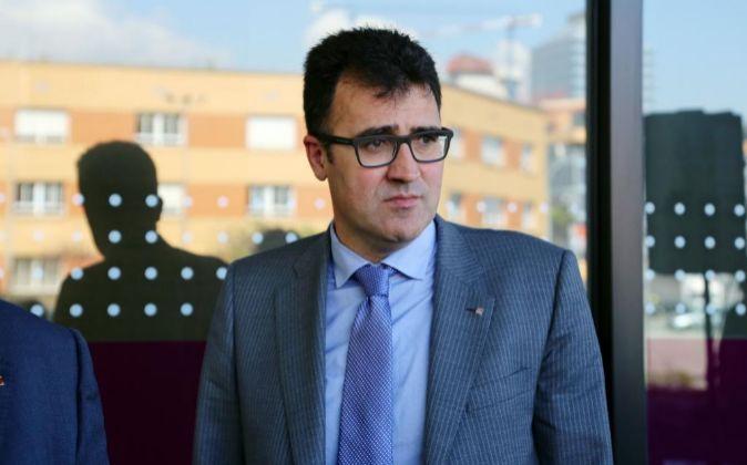 El secretario de Hacienda de la Generalitat de Cataluña Lluís...