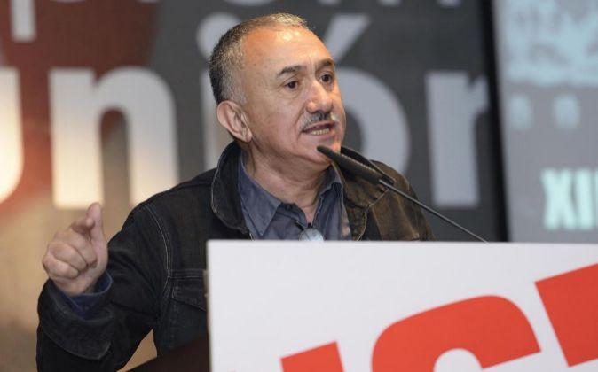 El secretario general de UGT José María Álvarez.