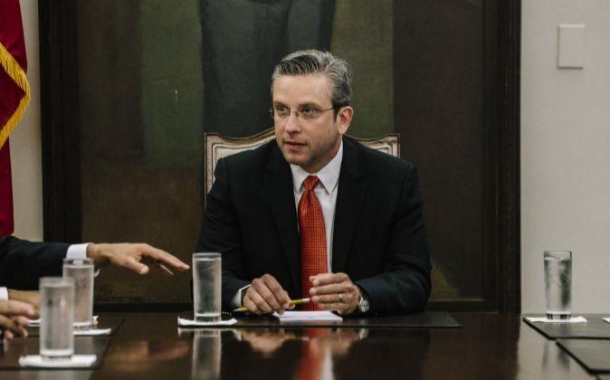 El gobernador de Puerto Rico Alejandro García Padilla.