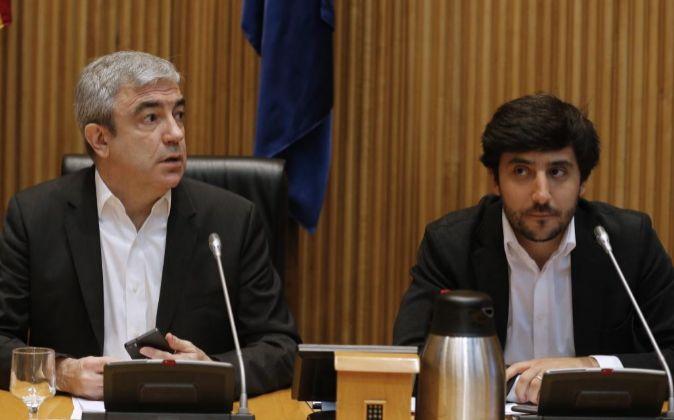 El responsable del programa económico de Ciudadanos, Luis Garicano,...