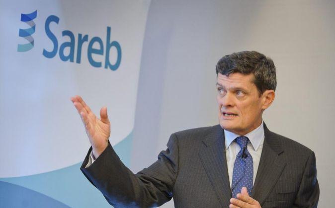 El presidente de Sareb Jaime Echegoyen.
