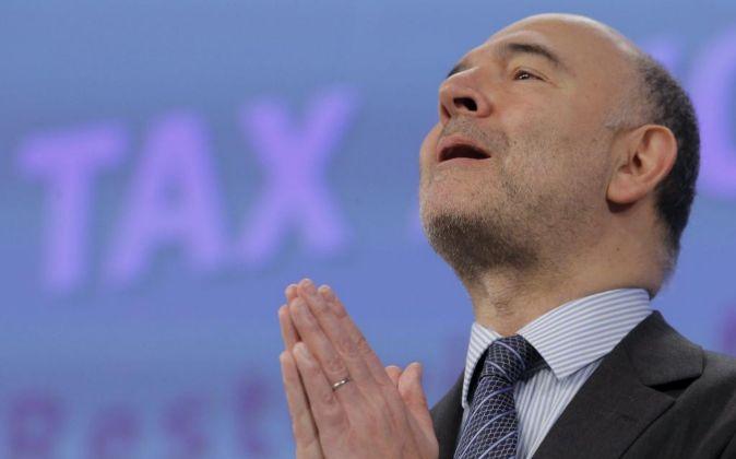 El comisario europeo de Asuntos Económicos, Financieros y Fiscalidad...