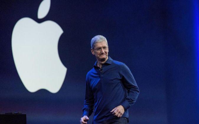 Tim Cook, máximo responsable de Apple, viajaría a China en un...