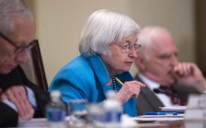 La presidenta de la Reserva Federal de Estados Unidos Janet Yellen.