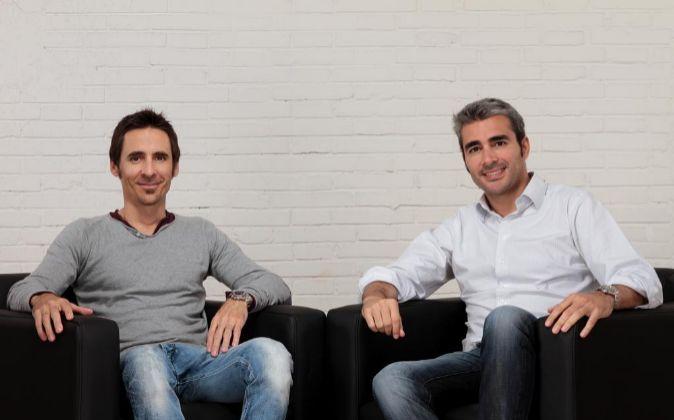 Lucas Carné y José Manuel Villanueva, fundadores de Privalia