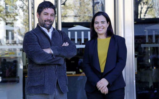 Hernán Scapusio y Mónica Rayo fundaron Agile Content en Barcelona...