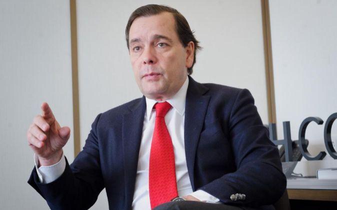 Federico González Tejera, consejero delegado de NH.