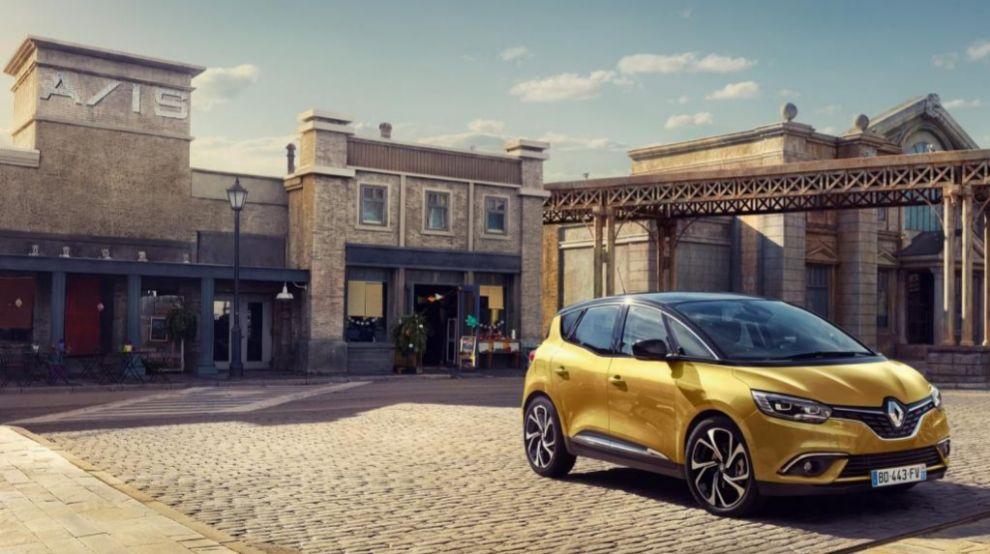 Imagen del nuevo Renault Scenic, que saldrá a la venta en el segundo...