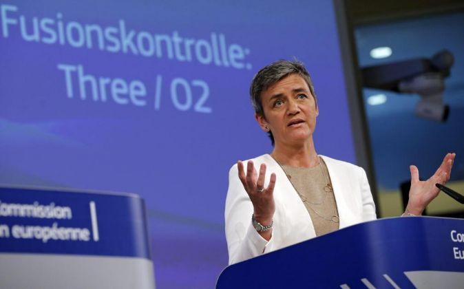 La comisaria de Competencia de la UE, Margrethe Vestager.