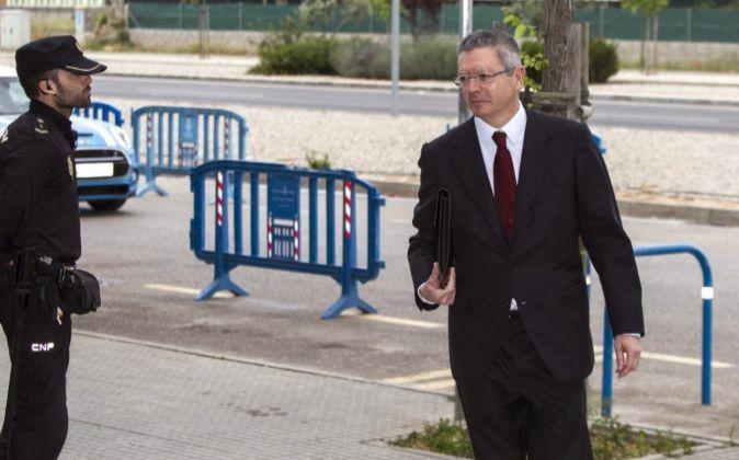 El exalcalde de Madrid y exministro de Justicia, Alberto...