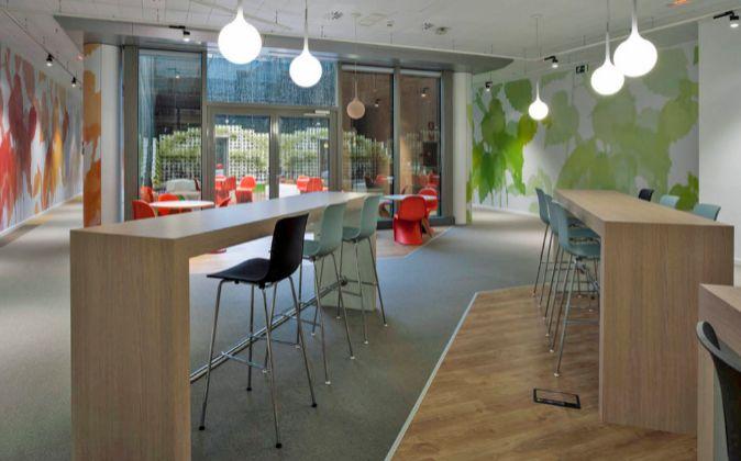 En la imagen, las oficinas de Microsft en Madrid.