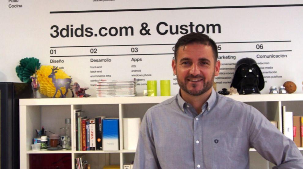 Andrés de España, CEO de 3dids