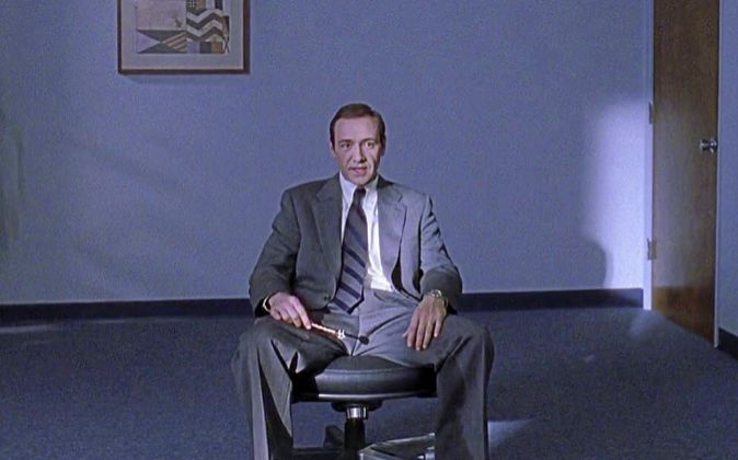 <strong>DESIDIA LABORAL</strong>  Kevin Spacey es Lester...