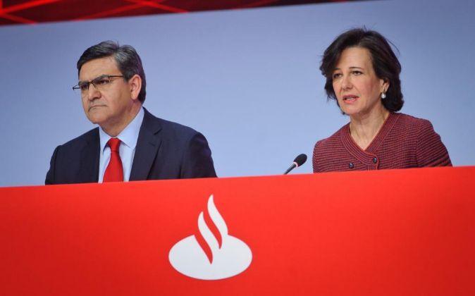 Junta de accionistas de Banco Santander.