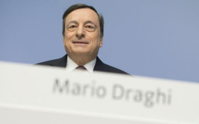 El presidente del Banco Central Europeo Mario Draghi.