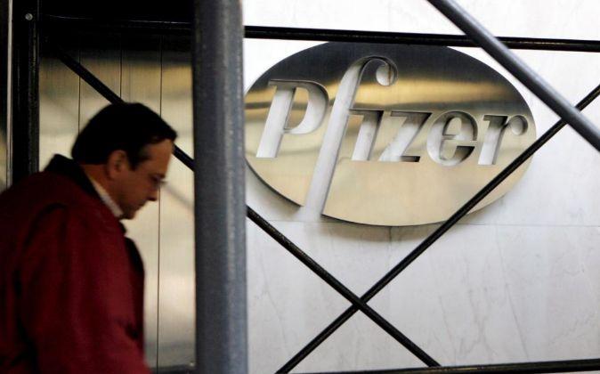 Sede de Pfizer en Nueva York.