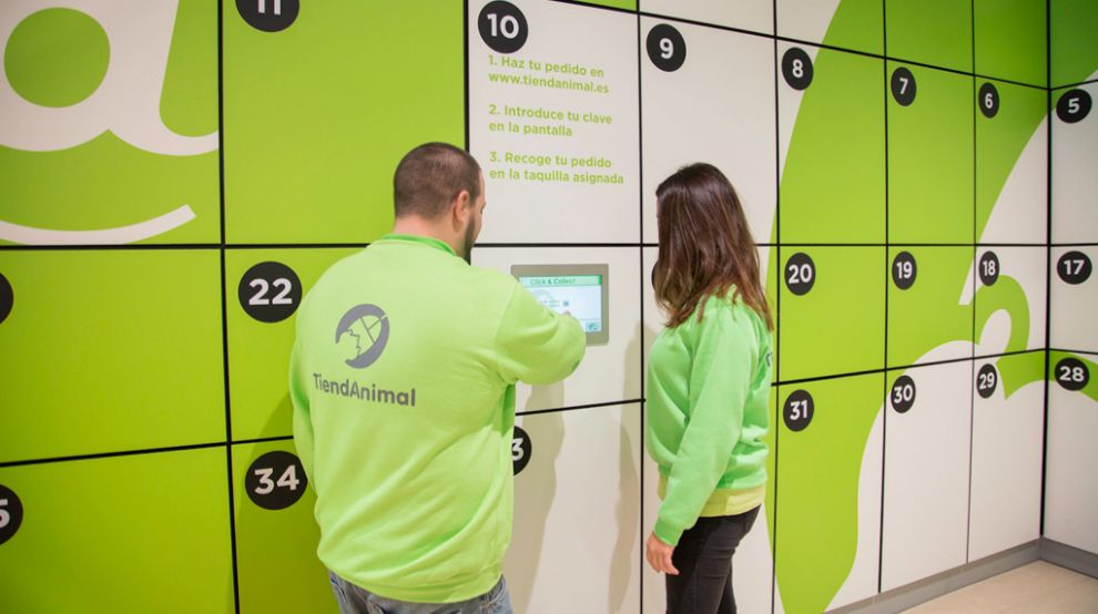 El servicio 'click&collect' en las tiendas físicas de...