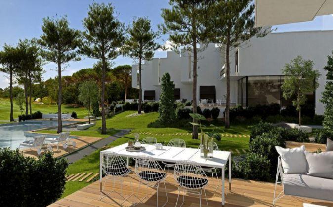 Viviendas en el resort PGA Catalunya Golf en Caldes de Malavella.
