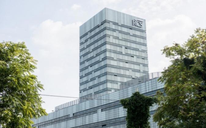 Sede de RCS MediaGroup, en Milán.
