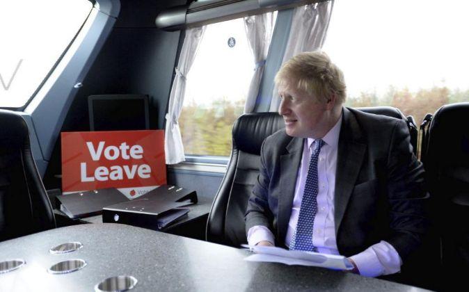 Boris Johnson, exalcalde de Londres y la cara más conocida de los...