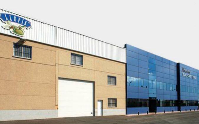 La sede de la empresa en San Vicente del Raspeig.
