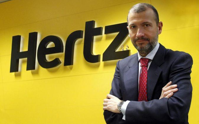 Javier Díaz Laviada, Director General de Hertz.