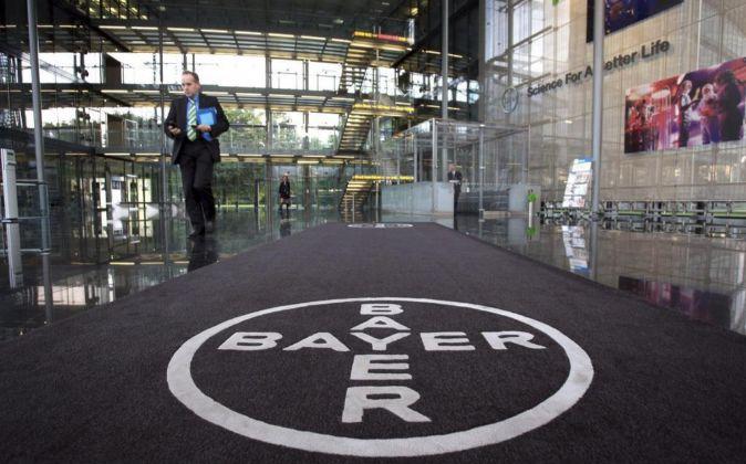 Sede de Bayer en Leverkusen.