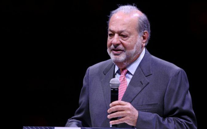 Imagen del empresario mexicano Carlos Slim