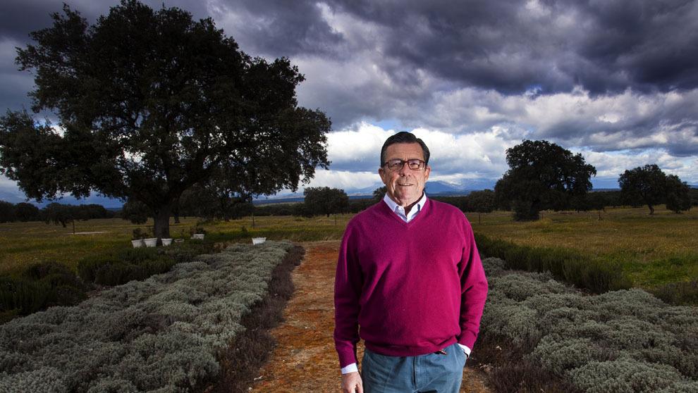 Felipe Díaz de Bustamante, 63 años, en Montenuevo, entre Oropesa y...