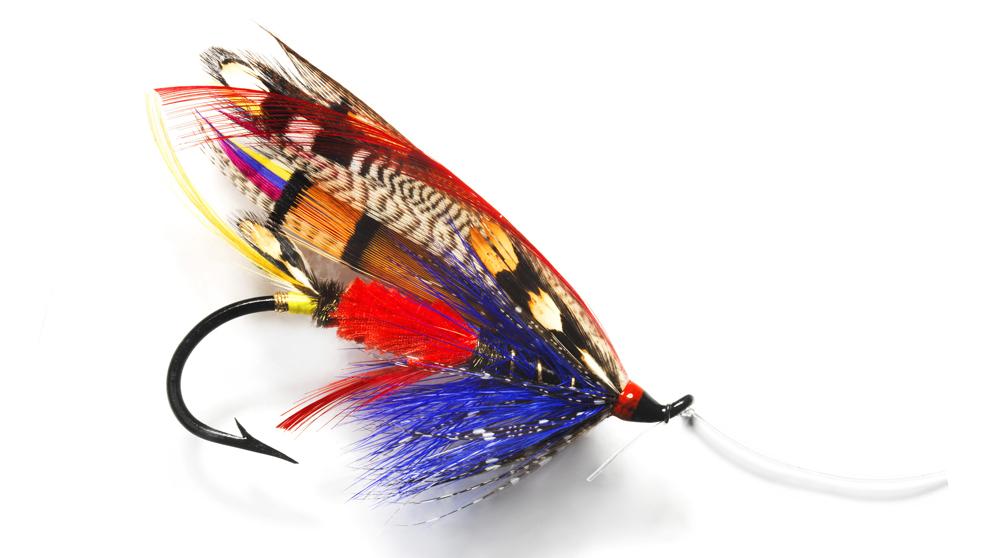 La Figal, una de las moscas más complejas realizadas por el asturiano...