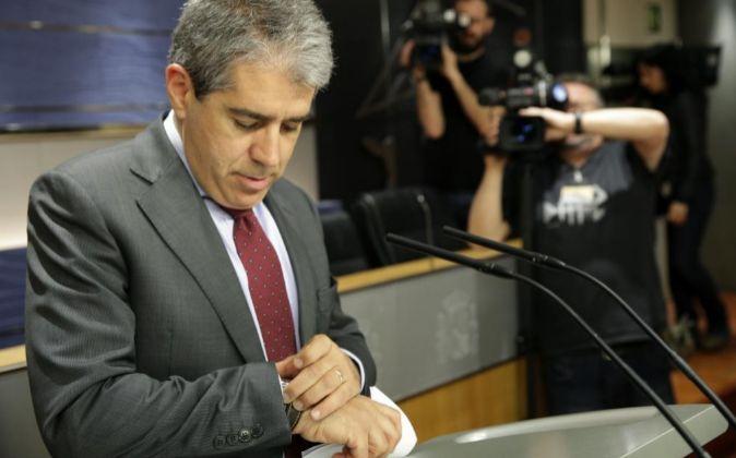 El portavoz de exportavoz de Democràcia i Llibertat (DiL) en el...