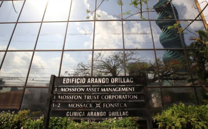 Vista general de la sede de la firma de abogados Mossack Fonseca  en...
