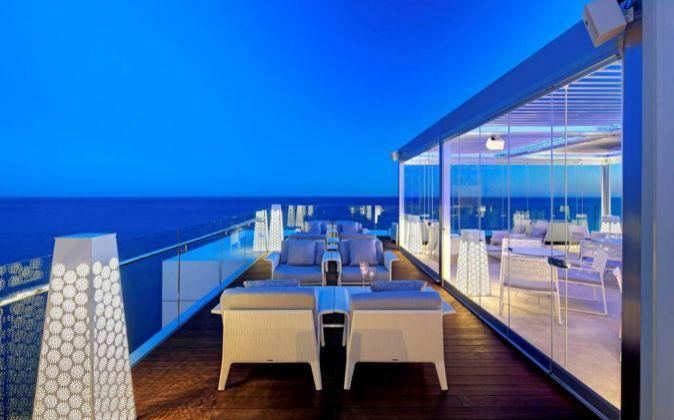 zona exterior del hotel Amàre Marbella