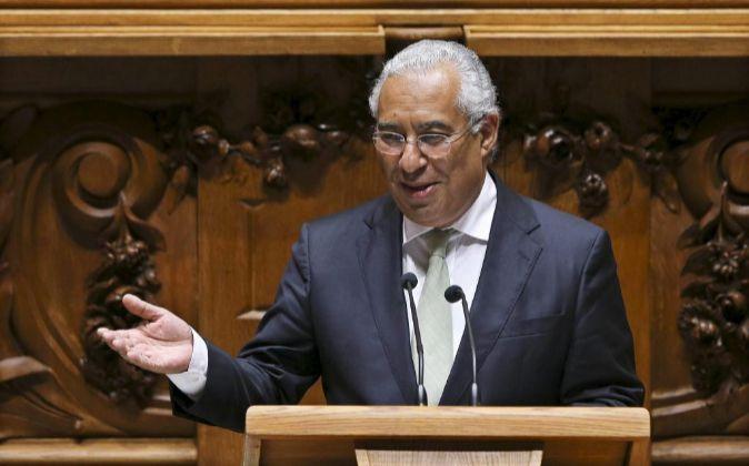 El primer ministro de Portugal Antonio Costa.