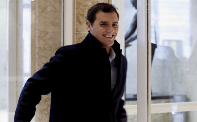 El líder de Ciudadanos Albert Rivera.