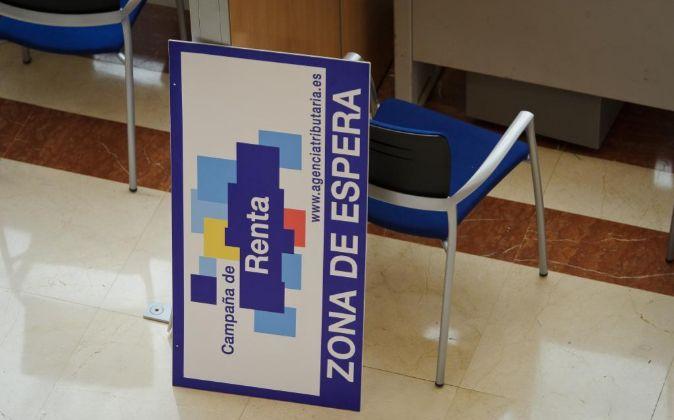 Delegación de la Agencia Tributaria, en Madrid.