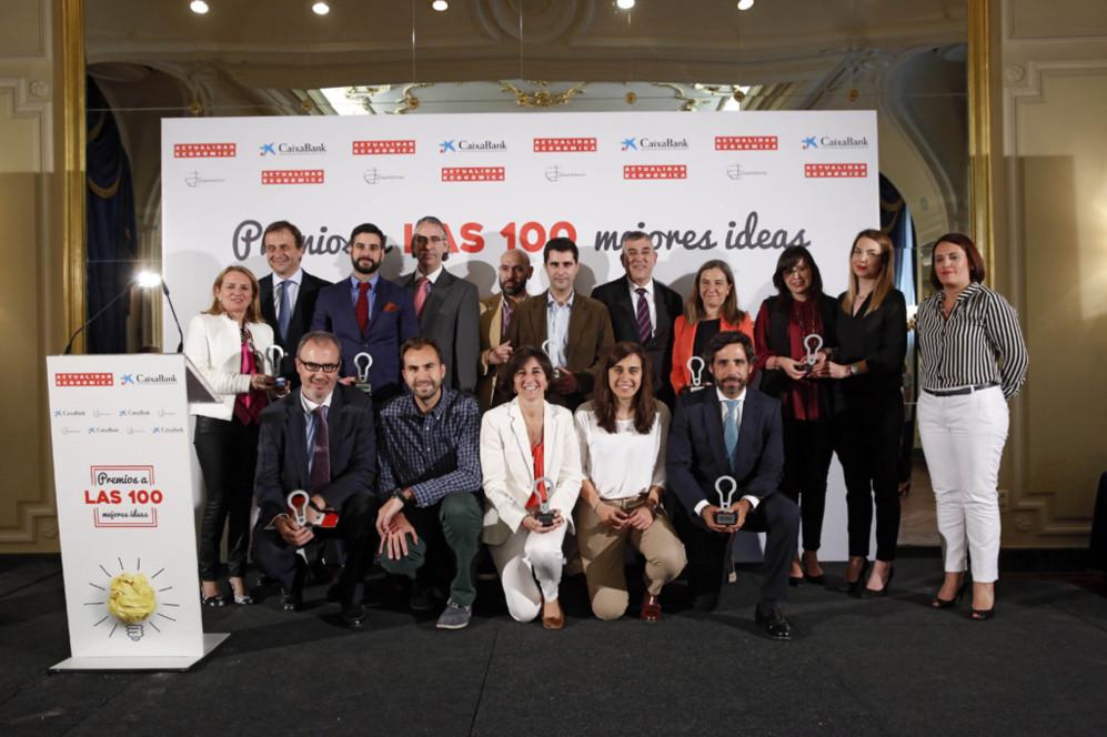 Los premiados en la categoría de Formación y Empleo y Pymes: son los...