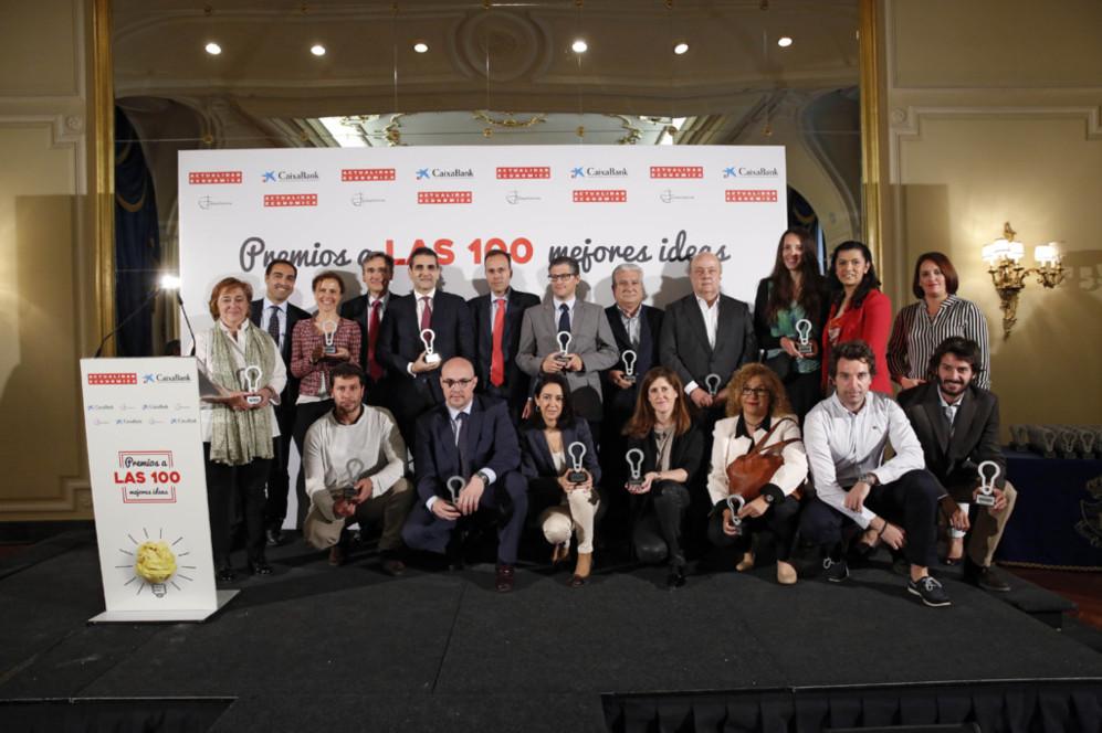 En la categoría de Ideas Sostenibles y RSC los premiados fueron:...