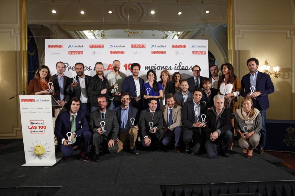 Ganadores en la categoría de Apps y Tecnología. Sportacam,...