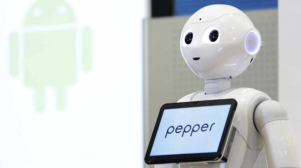 Robot Pepper.