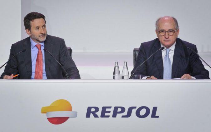 Junta de accionistas de Repsol.