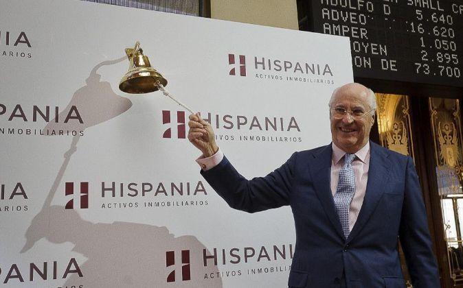 Rafael Miranda, presidente del consejo de administración de Hispania.