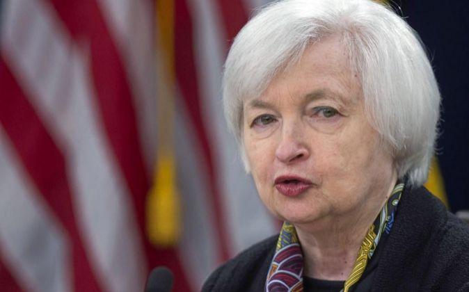 La presidenta del banco central estadounidense, Janet Yellen.