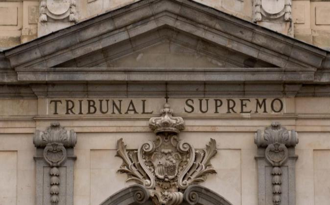 Fachada de la sede del Tribunal Supremo