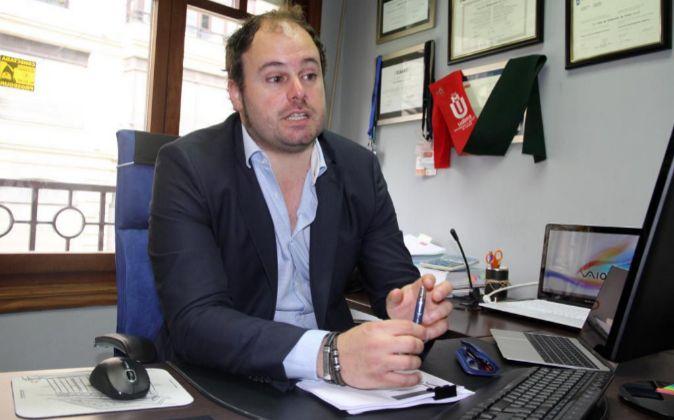 Unai Olabarrieta, abogado y economista y promotor del foro...
