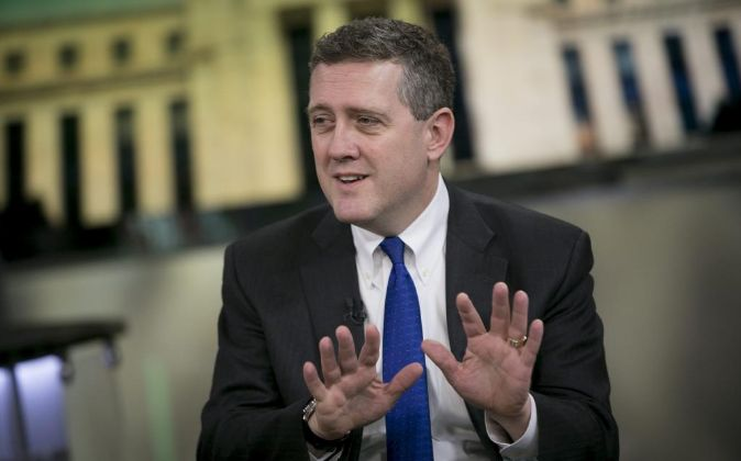 El presidente de la Fed de St. Louis, James Bullard.