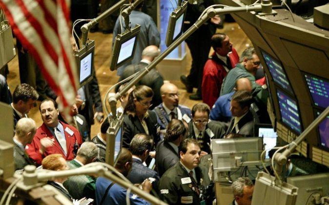 La Bolsa de Nueva York.